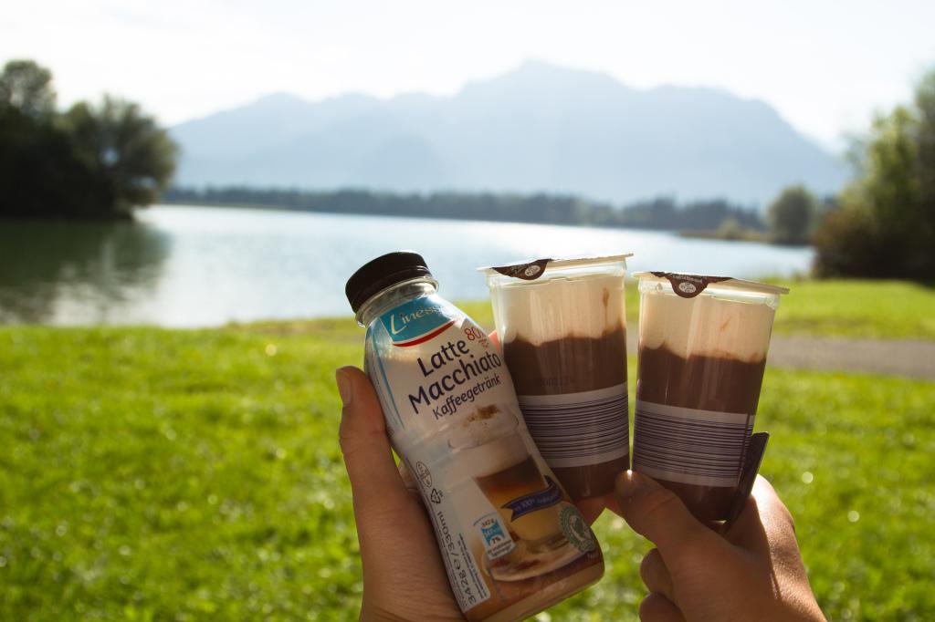 Niemcy: śniadanie nad jeziorem Forggensee