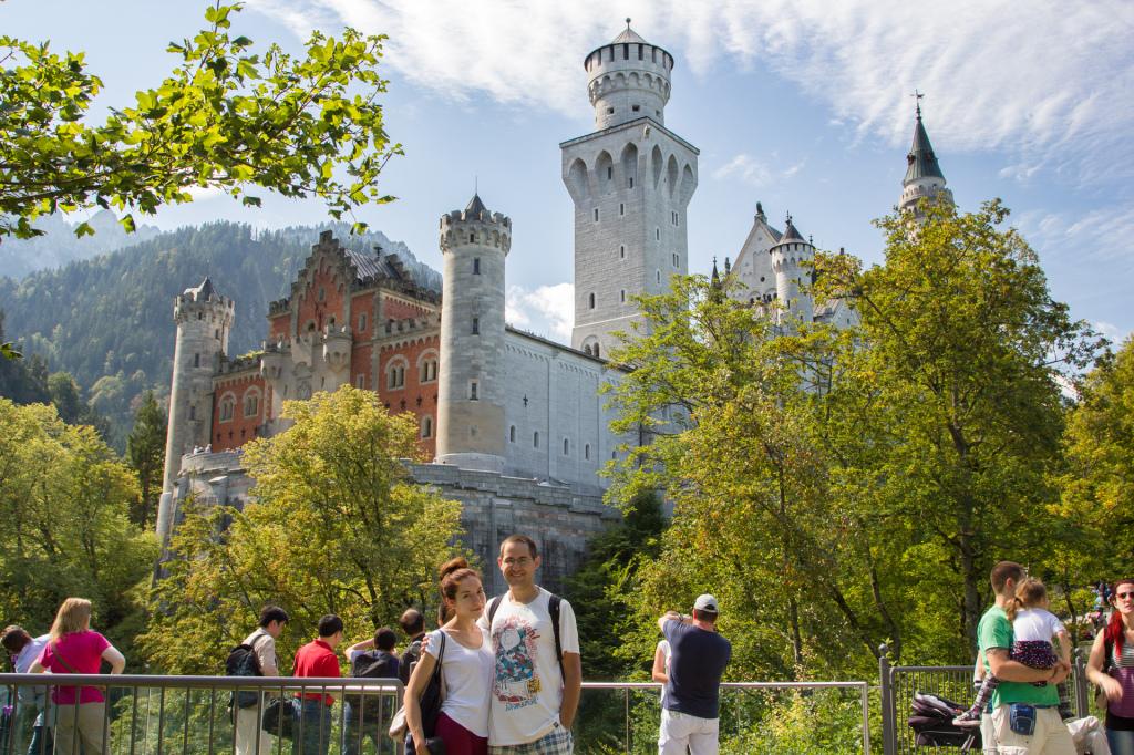 Niemcy: zamek Neuschwanstein