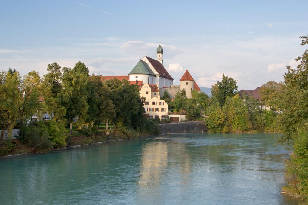 Niemcy: bajkowe Füssen nad rzeką Lech