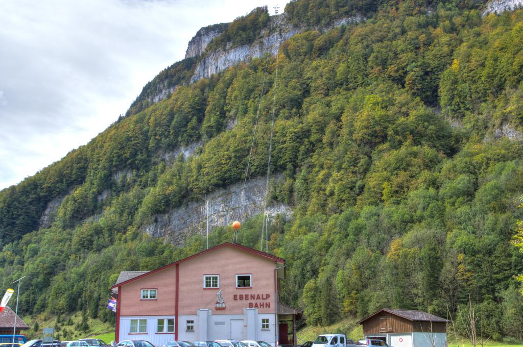 Szwajcaria: Appenzell - kolejka do schroniska Ebenalp