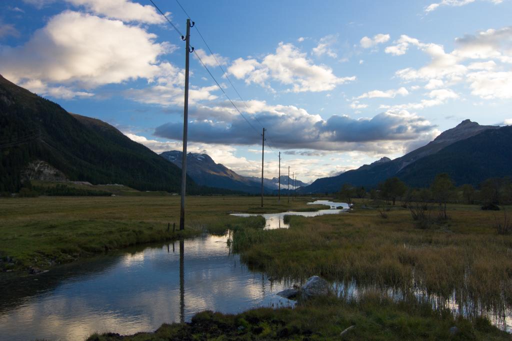 Szwajcaria: w drodze do Sankt Moritz