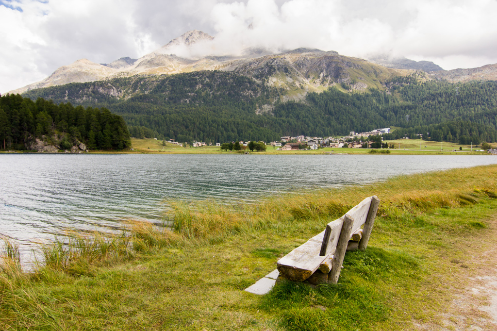Szwajcaria: jezioro Champfèr