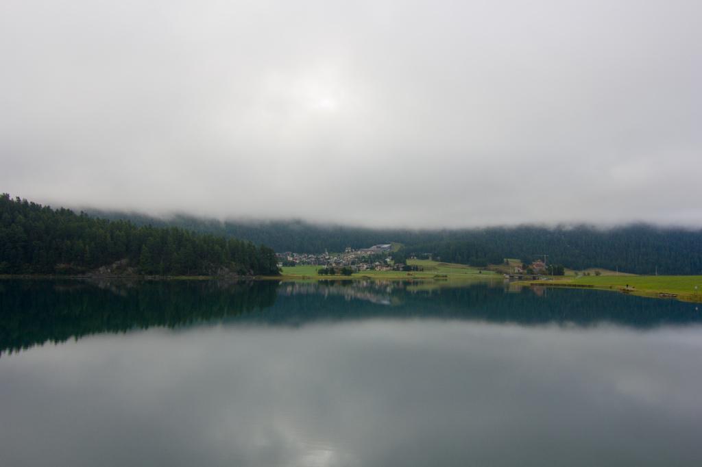 Szwajcaria: jezioro Silvaplana