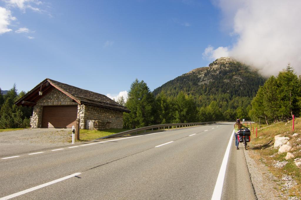 Szwajcaria: w drodze do Lenzerheide