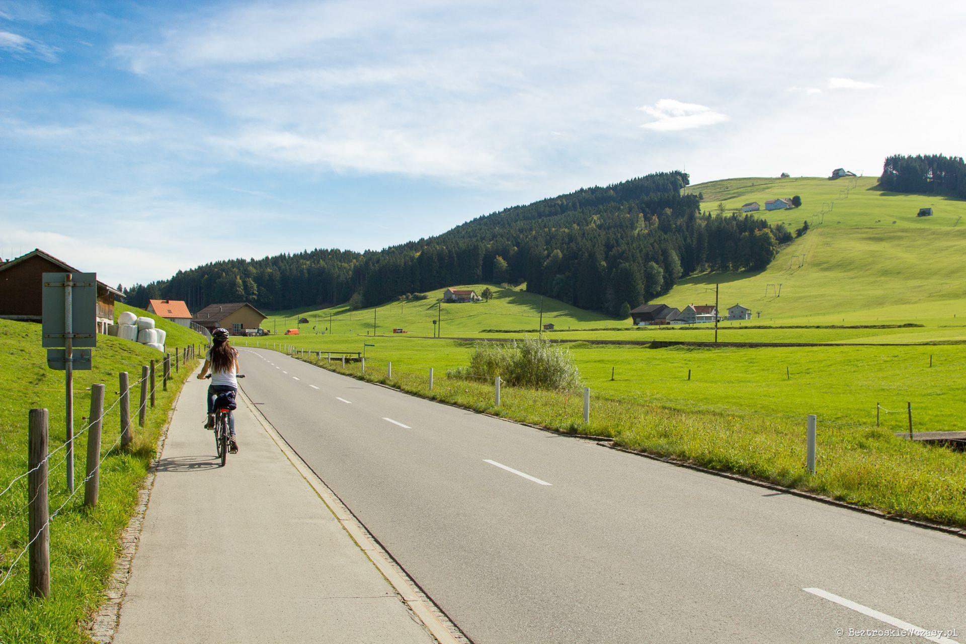 Szwajcaria: droga przez Appenzell