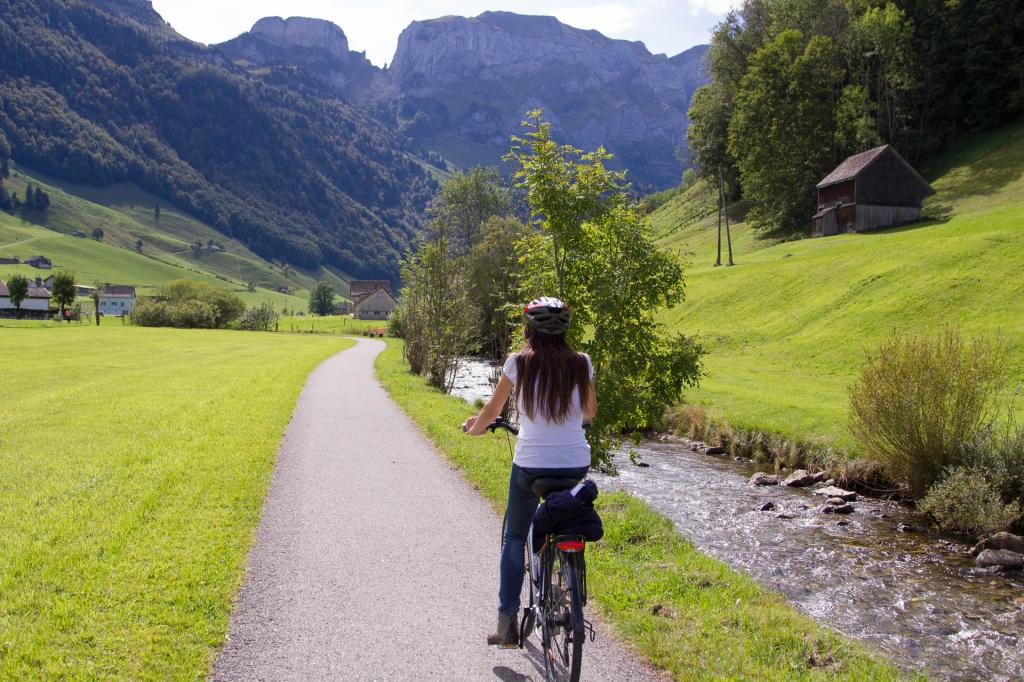 Szwajcaria: rowerem przez Appenzell