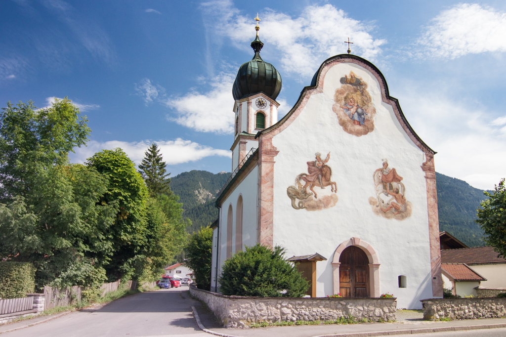 Niemcy: Bawaria. Tradycjny kościół