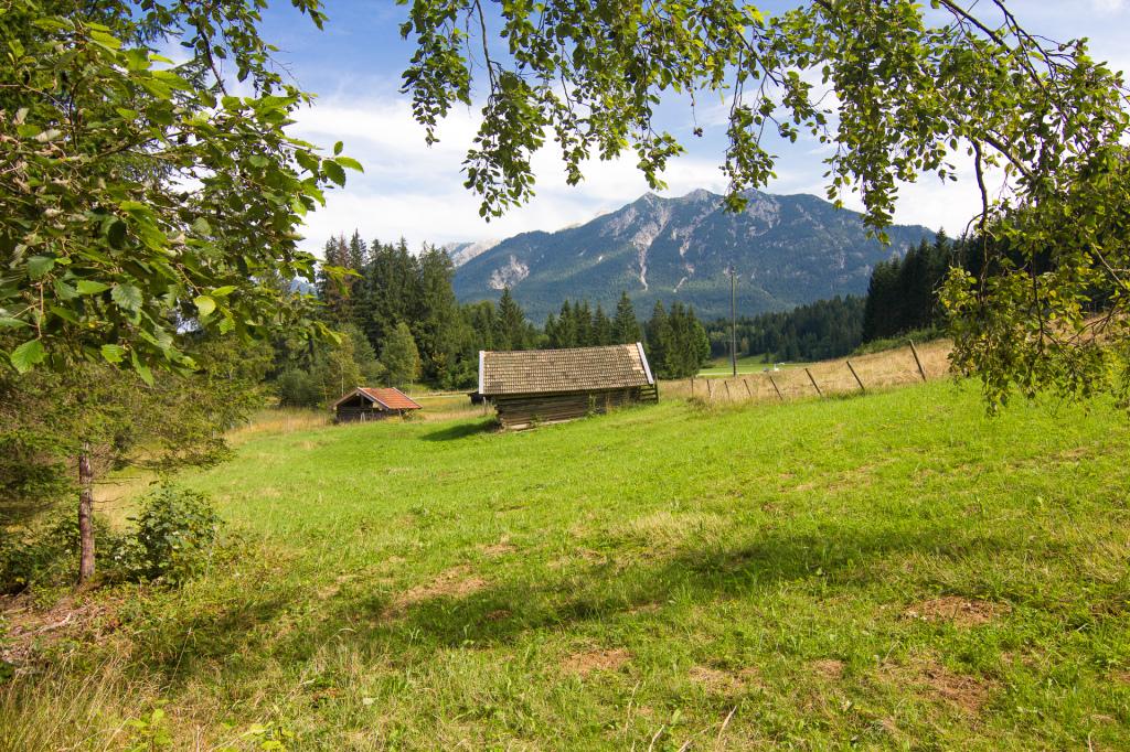 Niemcy: Bawaria. Okolice jeziora Grubsee