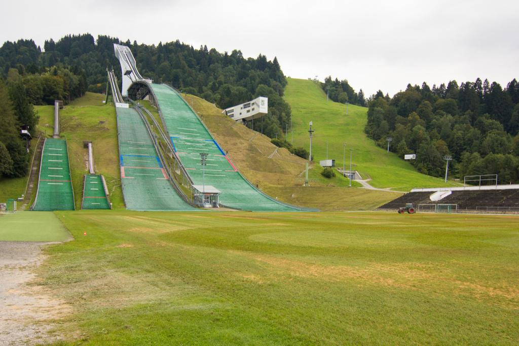 Niemcy: skocznia w Garmisch-Partenkirchen