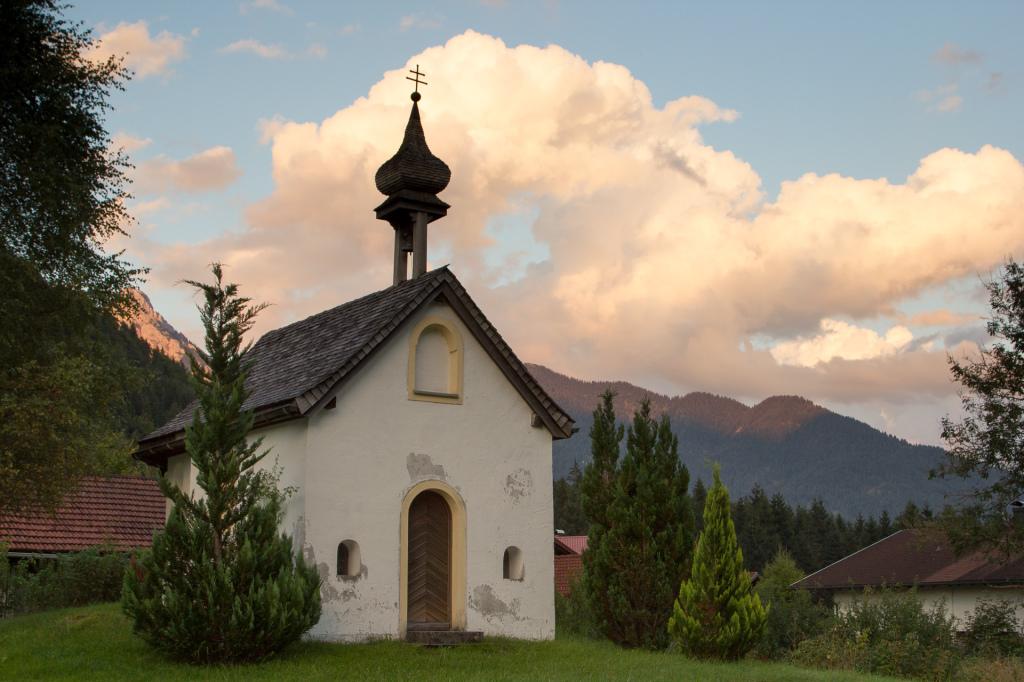 Austria: Steeg, w drodze do Füssen