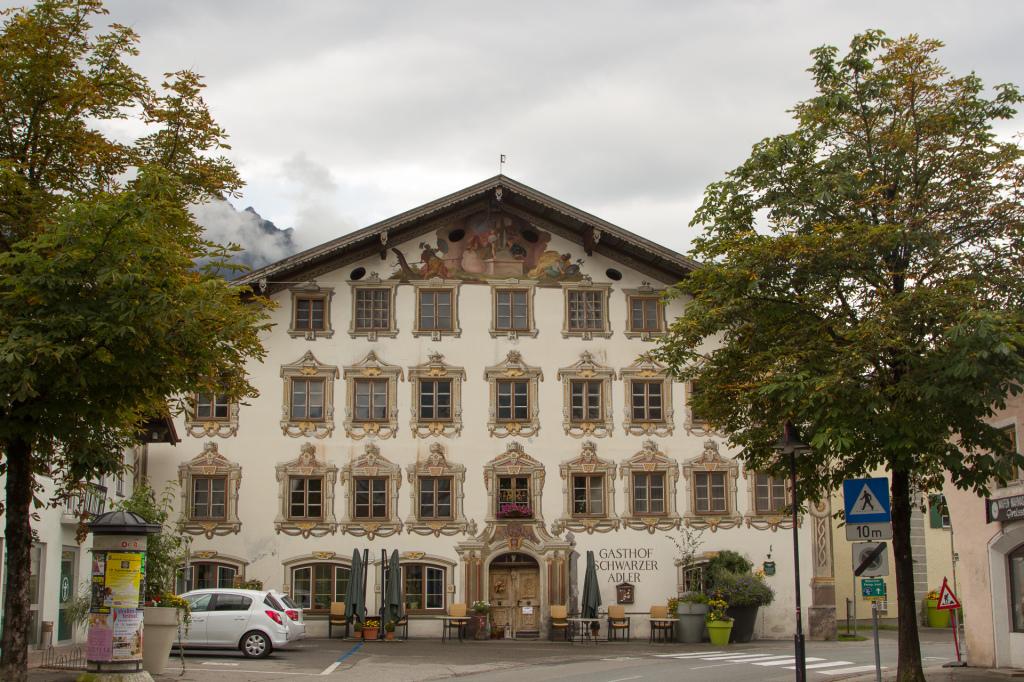 Austria: Steeg, hotel Gasthaus Schwarzer Adler