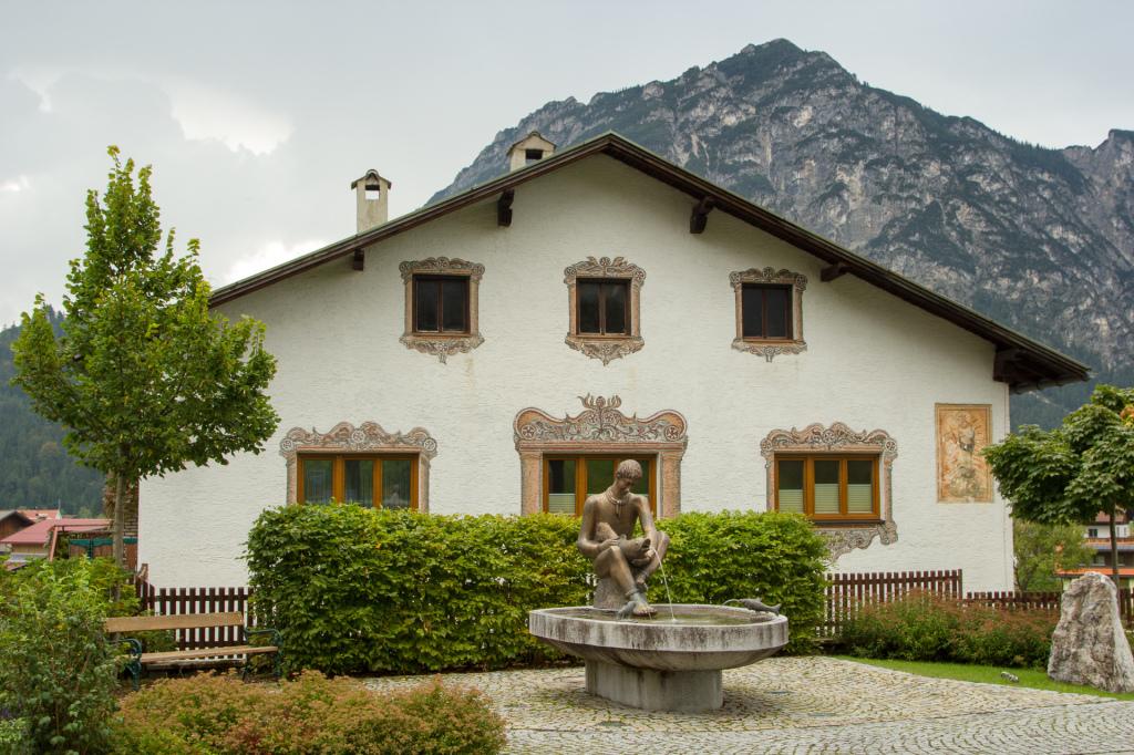 Austria: miasteczko Heiterwang