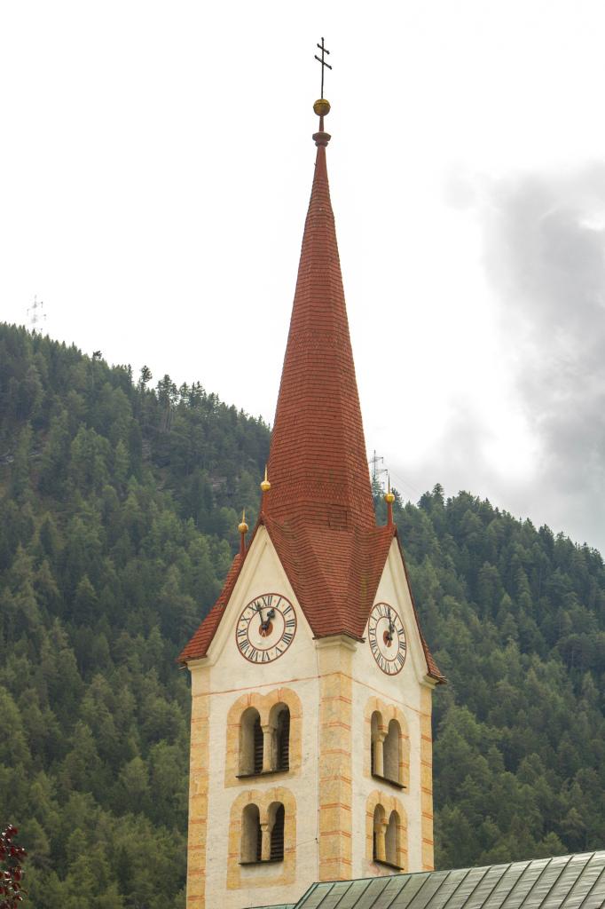 Austria: wieża kościelna