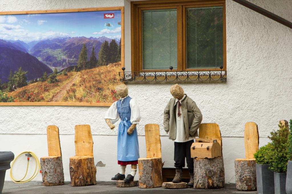 Austria: wypoczywający Austriacy