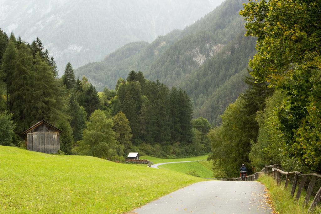 Austria: zjazd do Nauders