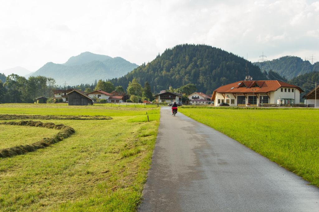 Austria: Via Claudia Augusta, w drodze do Füssen
