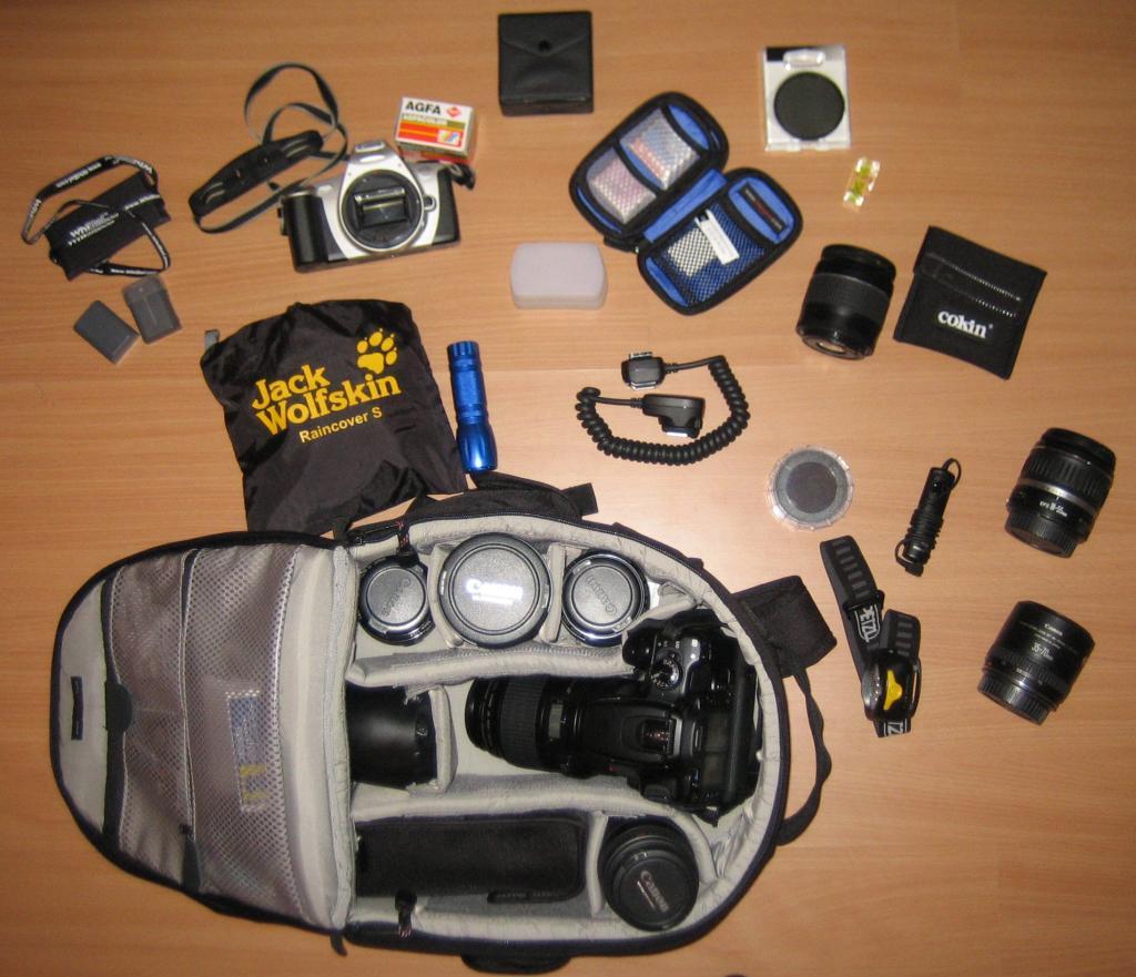 Podróżnicze gadżety; źródło zdjęcia: https://www.flickr.com/photos/tonymangan/