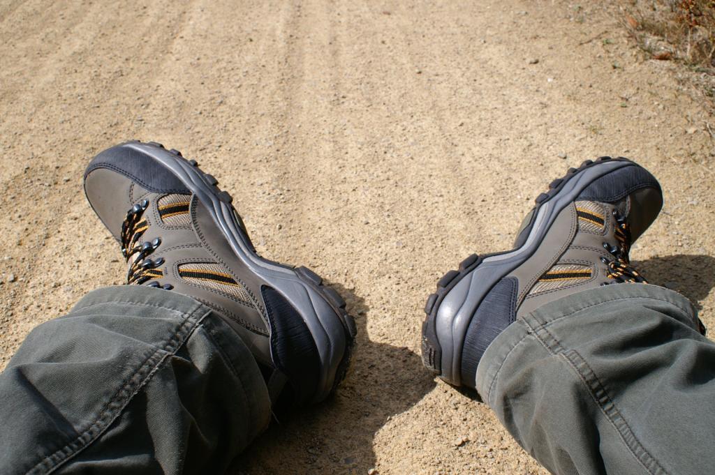 Buty trekkingowe; źródło zdjęcia: https://www.flickr.com/photos/harald_/3880595481