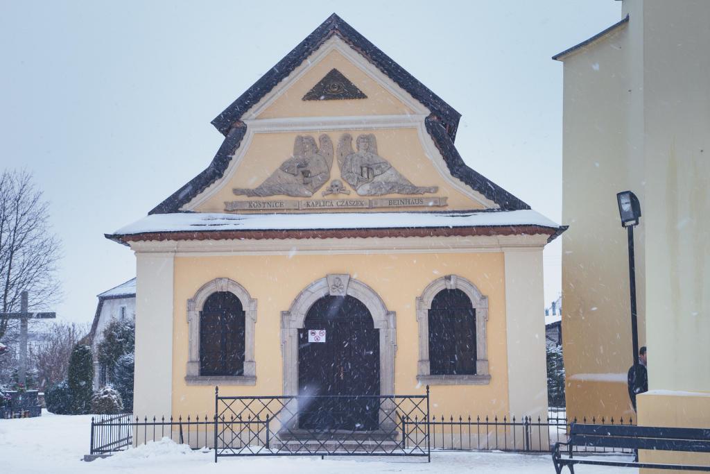 Kudowa-Zdrój: Kaplica Czaszek