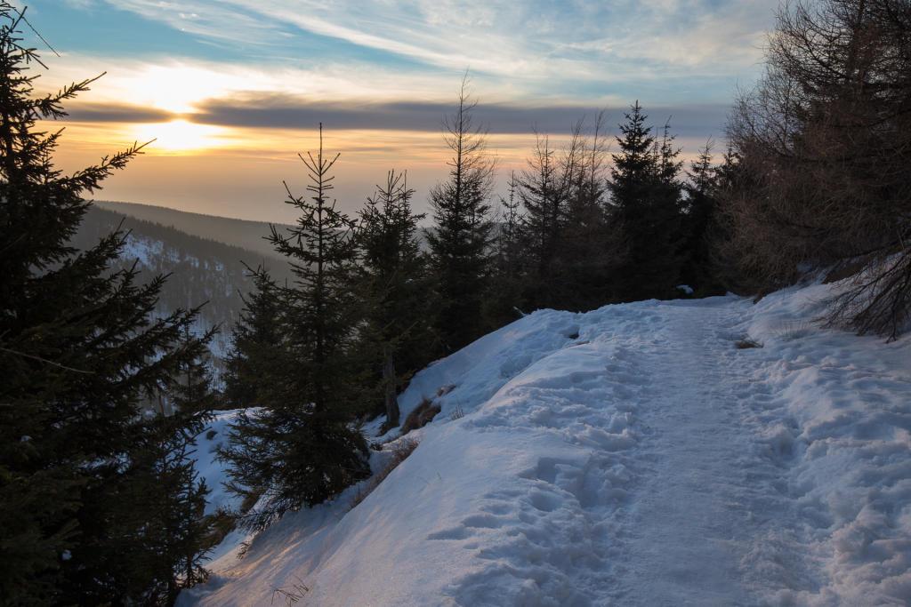 Masyw Śnieżnika - powrót w ciemnościach