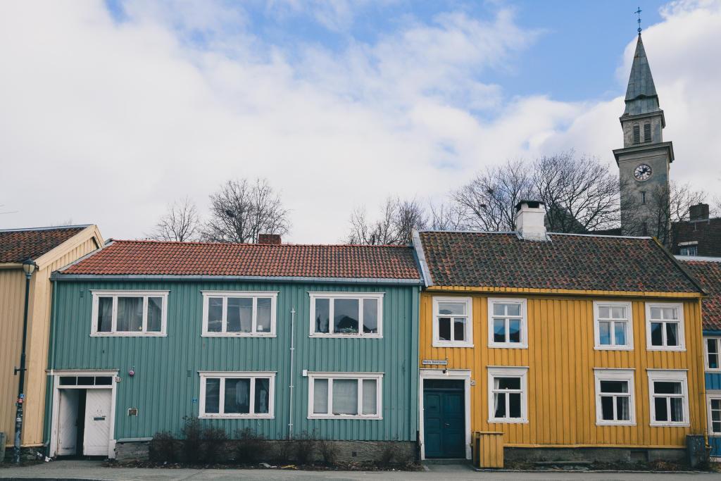 Trondheim: dzielnica Bakklandet