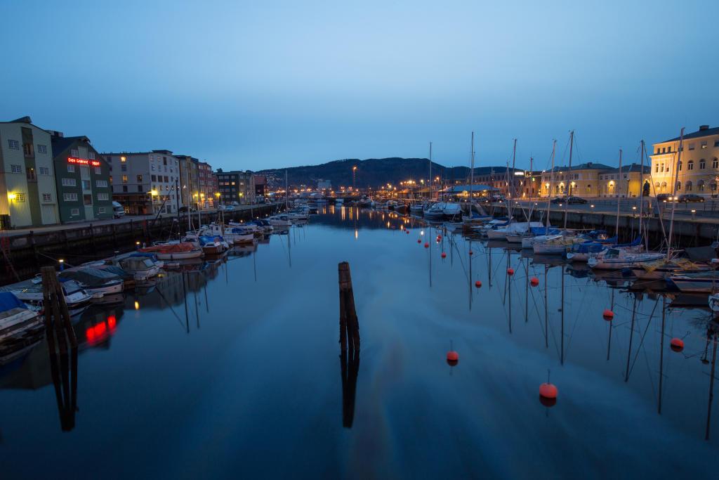 Trondheim: brudna przystań