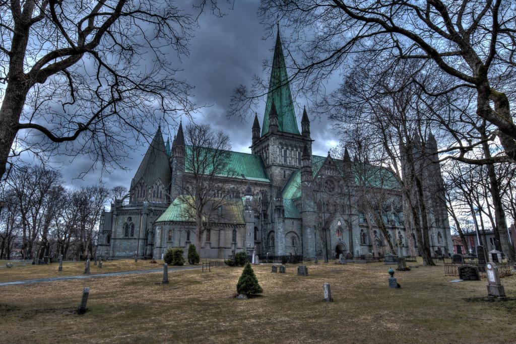 Trondheim: katedra Nidaros