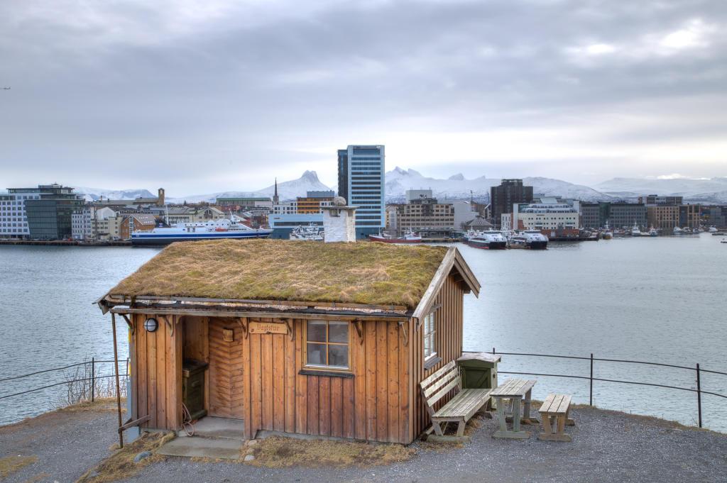 Bodø: fort Nyholmen