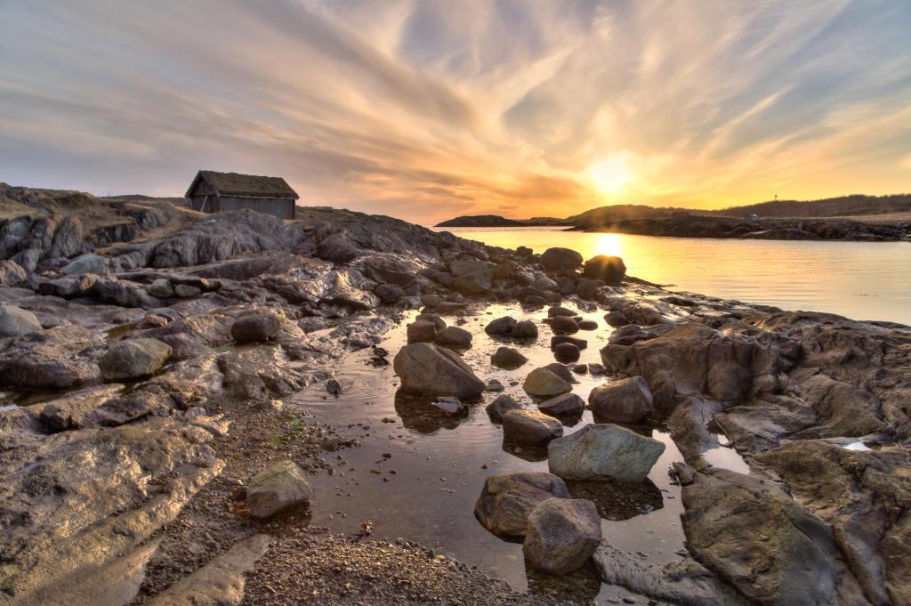 Bodø: okolice fiordu Saltfjorden