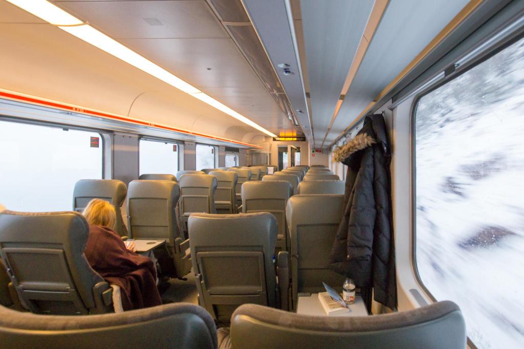 Norwegia: pociąg z Trondheim do Bodø