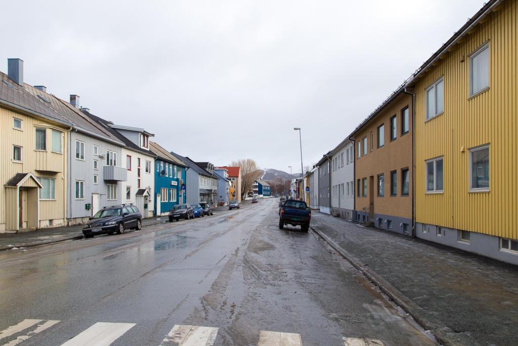 Bodø: szaro, buro i ponuro
