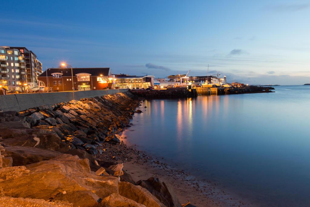 Bodø: molo i falochrony