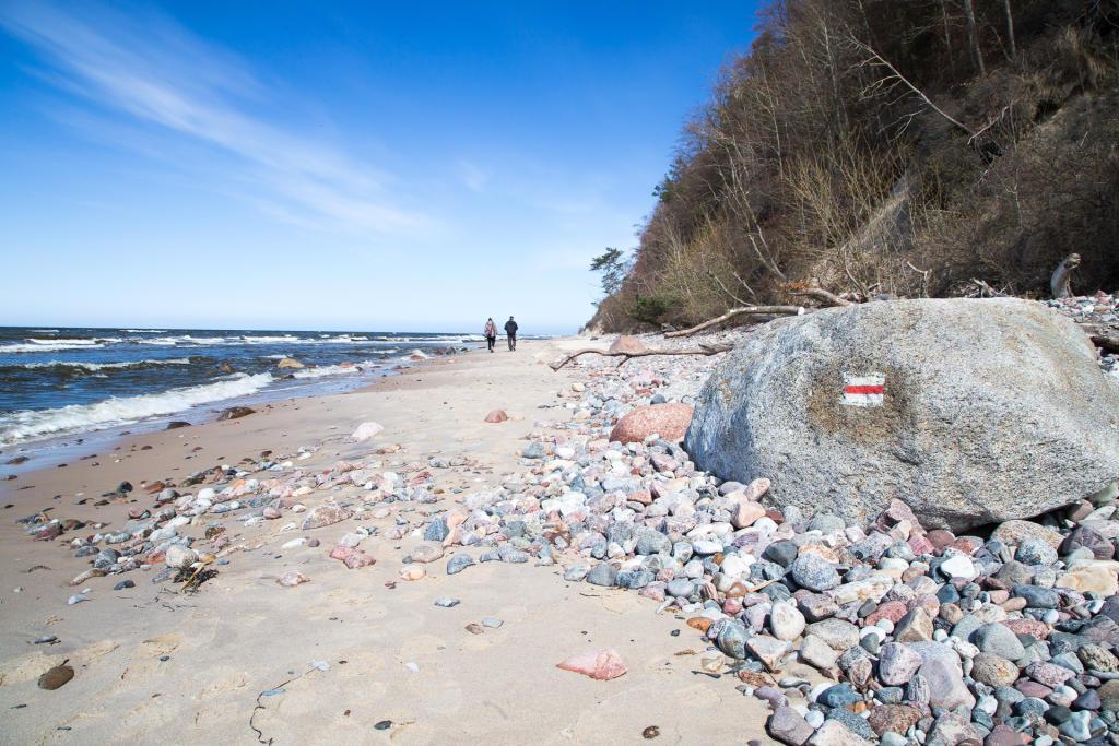 Plaża w Wolińskim Parku Narodowym