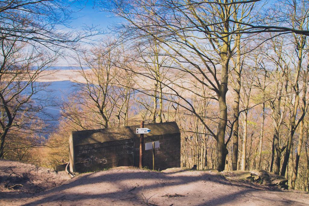 Woliński Park Narodowy: Bunkier V3 w Zalesiu