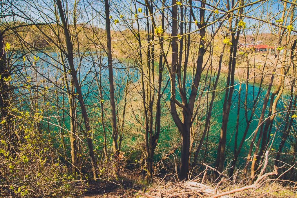 Woliński Park Narodowy: jezioro Turkusowe