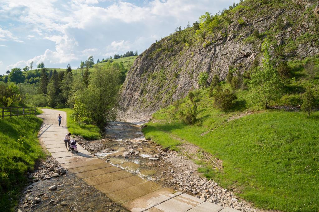 Pieniny: Rezerwat Biała Woda