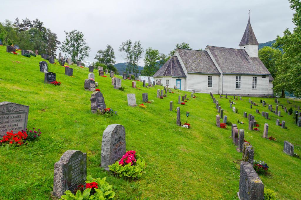 Kościół w Øystese