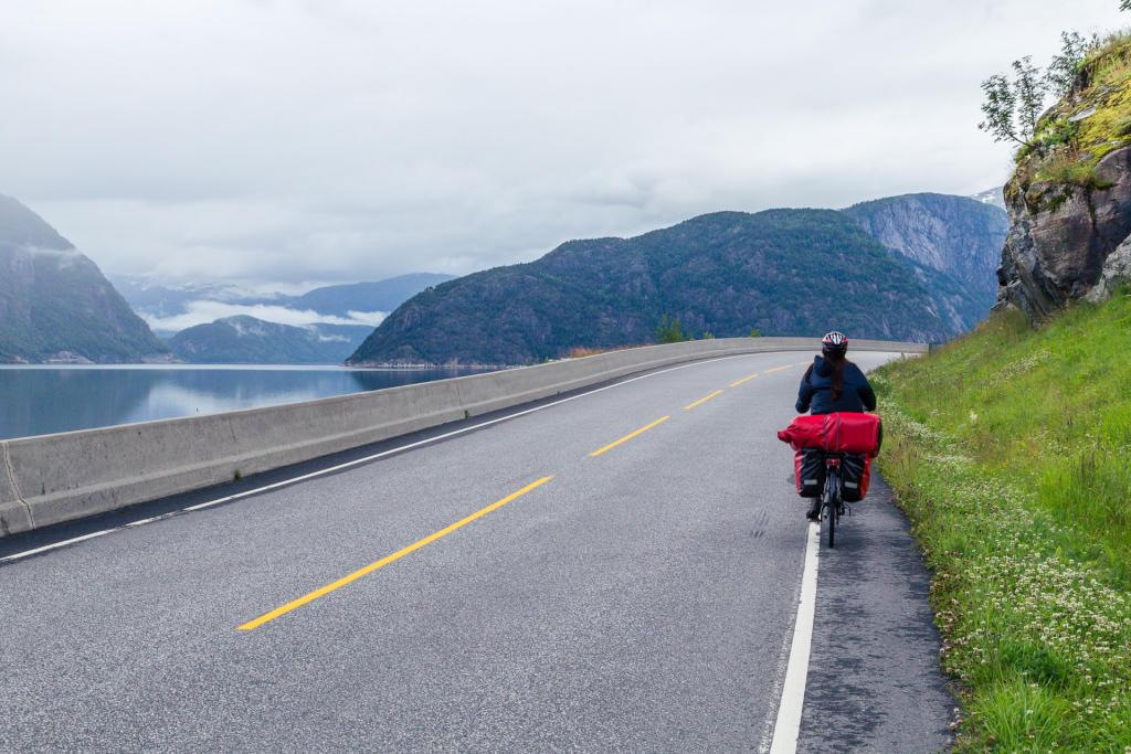 Droga do Eidfjordu