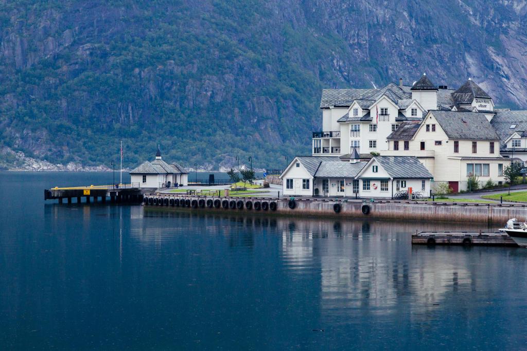Klimatycznty Eidfjord