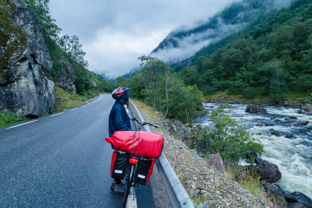 Droga do Øvre Eidfjordu
