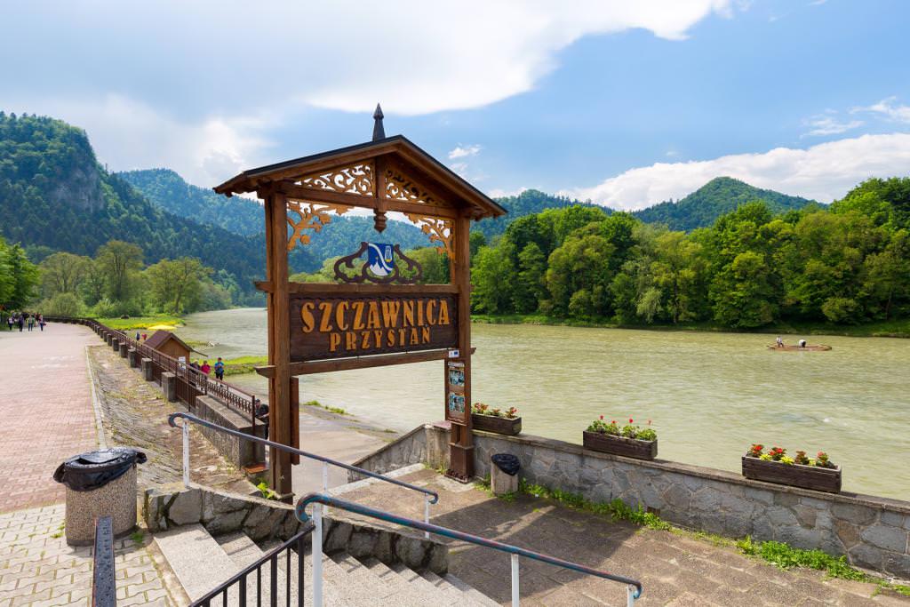 Szczawnica: Dunajec