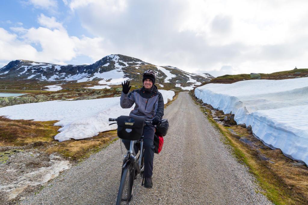 Norwegia w środku lata, czyli Rallarvegen