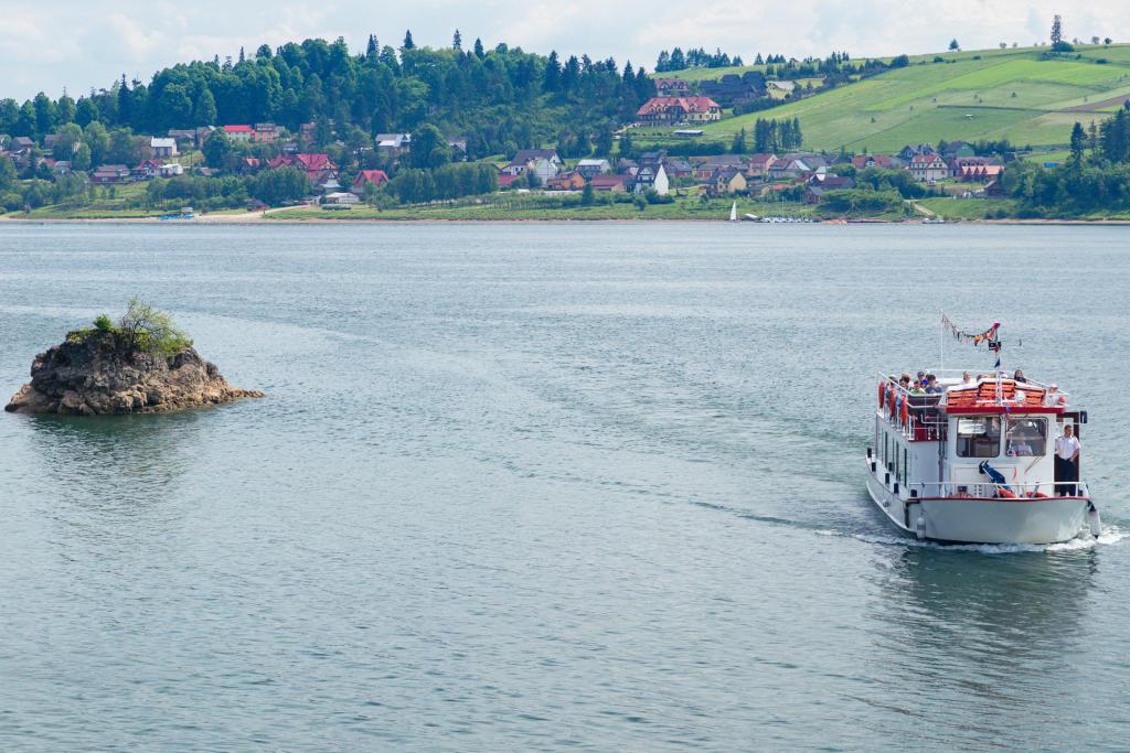 Rejs po jeziorze Czorsztyńskim