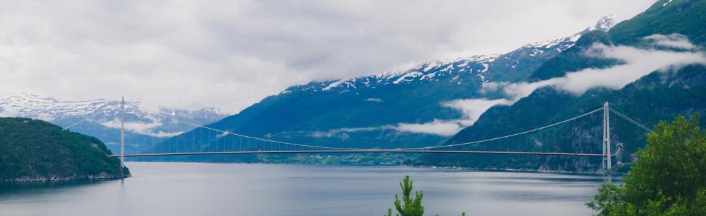 Hardangerbrua, najdłuższy most w Norwegii