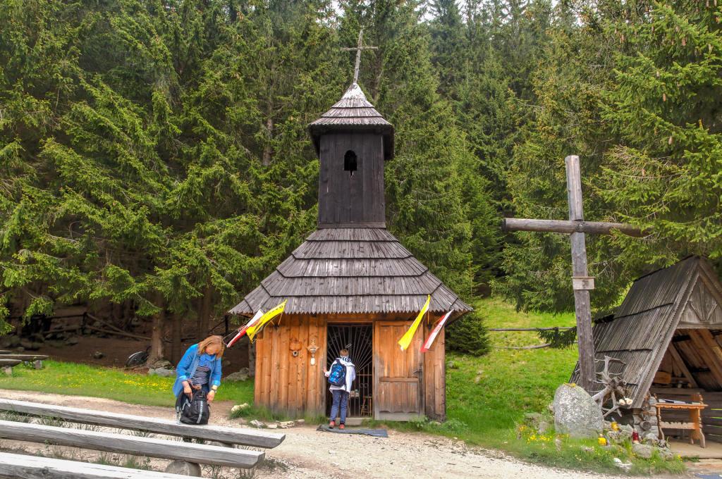 Kaplica na Chochołowskiej Polanie