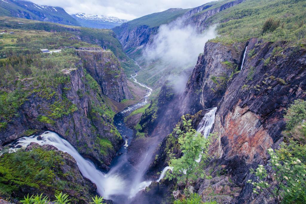 Norwegia: Vøringfossen