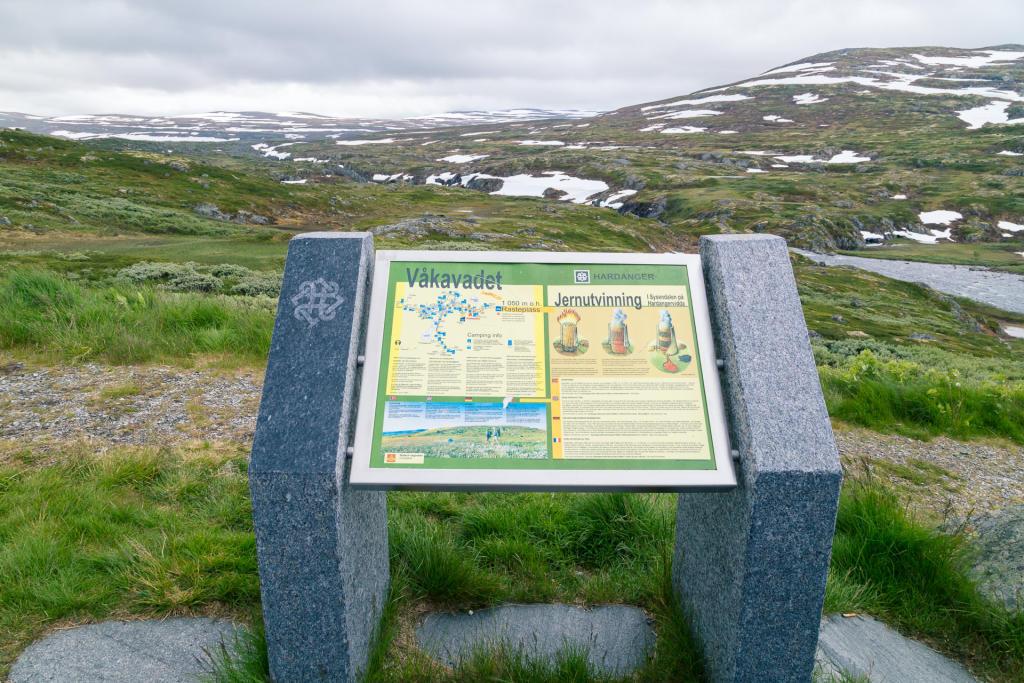 Płaskowyż Hardangervidda - punkt widokowy