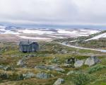 Bezkresne połacie płaskowyżu Hardangervidda
