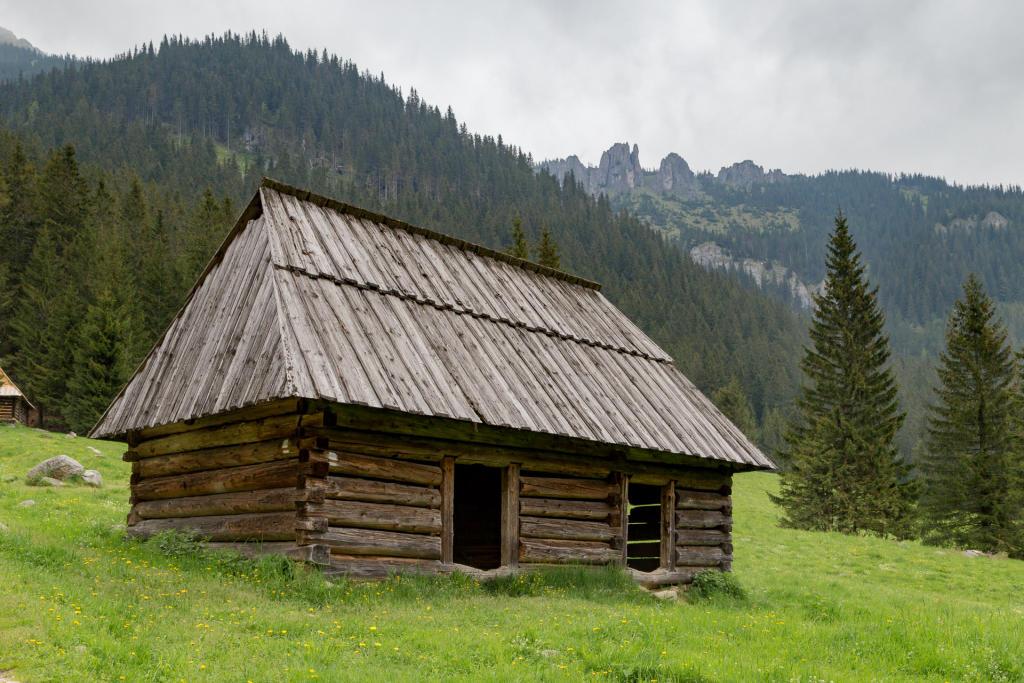 Bacówka na Polanie Chochołowskiej