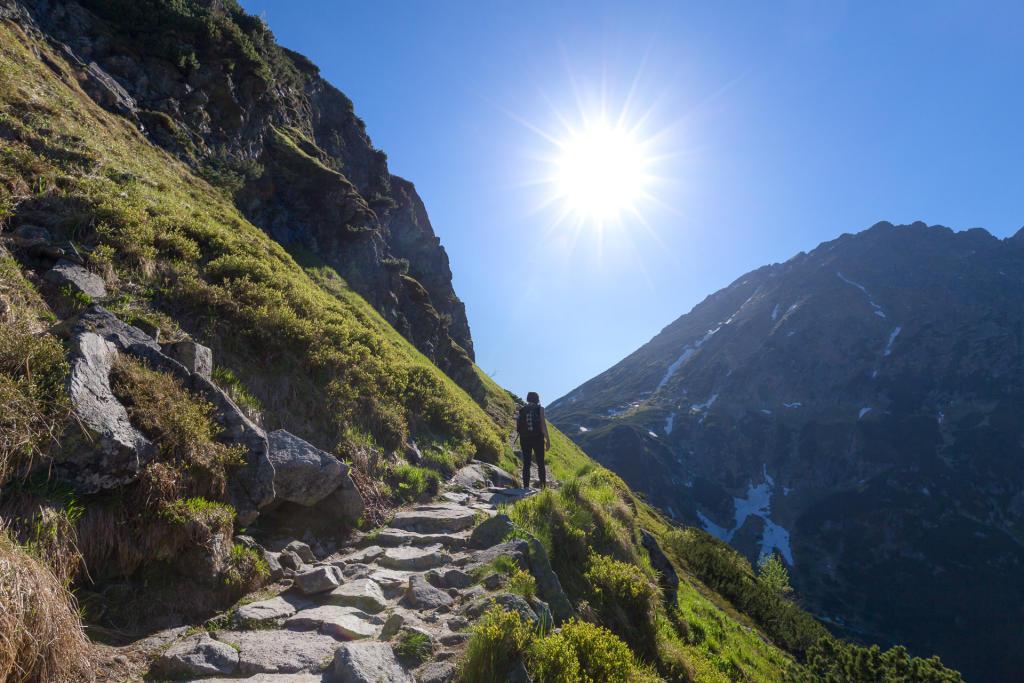 W drodze do Doliny Pięciu Stawów